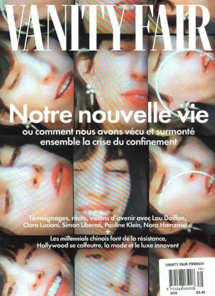 Vanity Fair French magazine