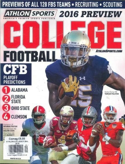 Athlon Sports College Football - SEC 2106 Preview by
