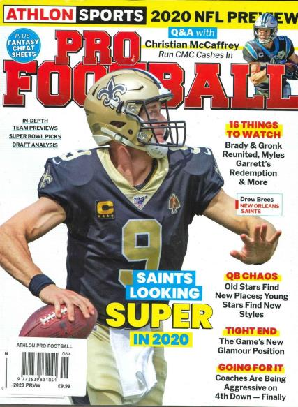 Athlon Sports Pro Football magazine