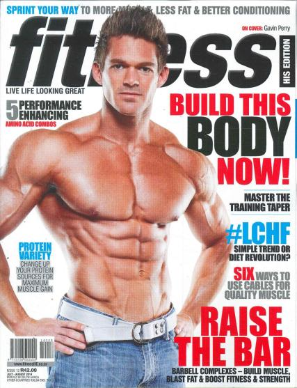 Fitness - His Edition magazine