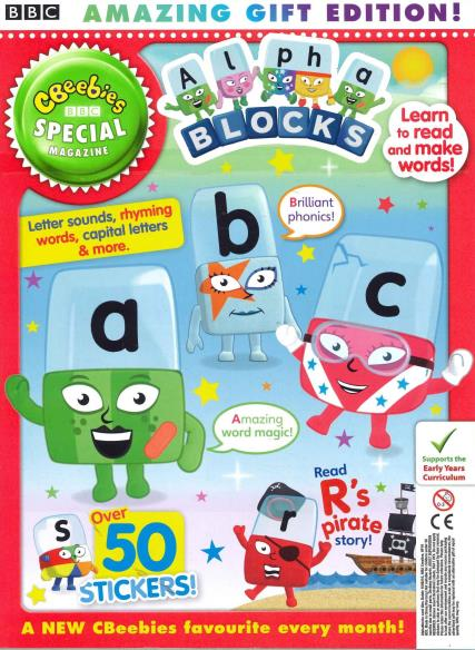 CBeebies Special Gift magazine