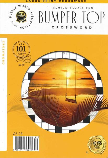 Bumper Top Crosswords magazine