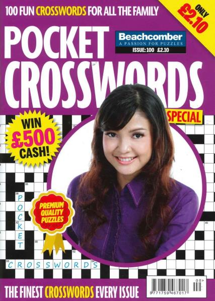 Pocket Crosswords Special magazine