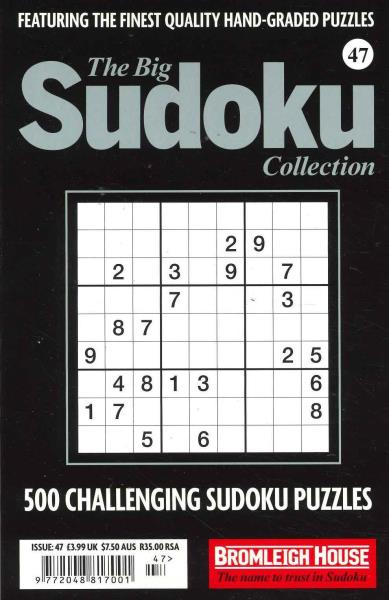 The Big Sudoku Collection magazine