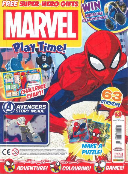 Marvel Play Time magazine