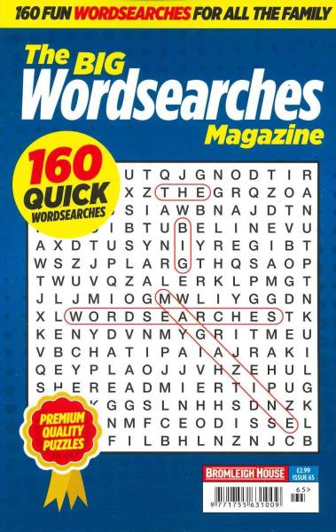 The Big Wordsearches magazine