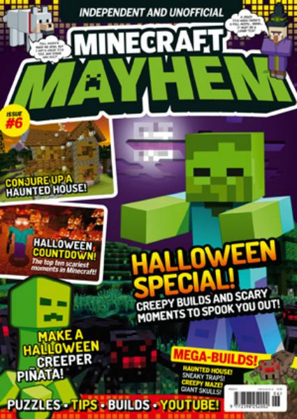 Minecraft Mayhem magazine