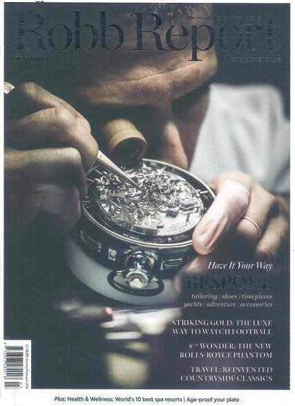 Robb Report UK magazine