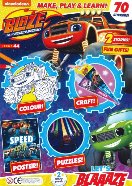 Blaze and the Monster Machines magazine