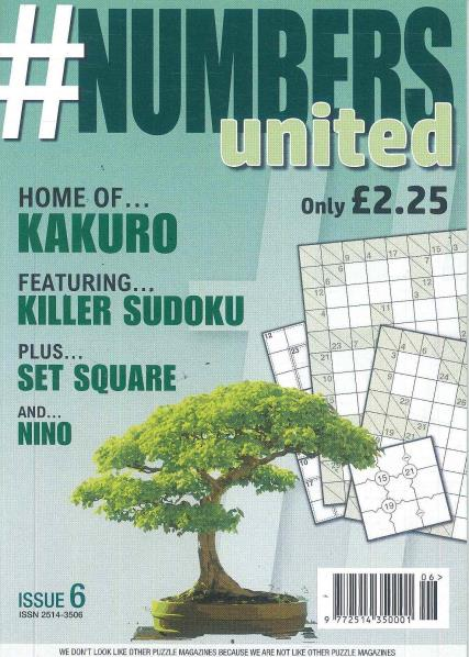 Numbers United magazine