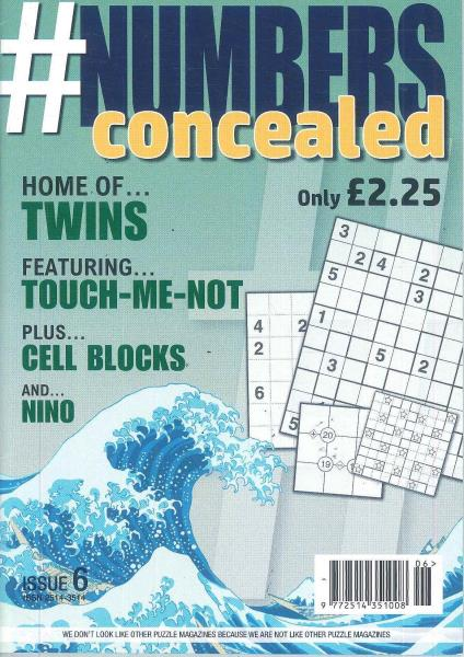 Numbers Concealed magazine