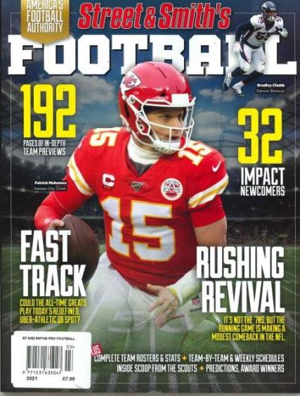 Street and Smith's Pro Football magazine