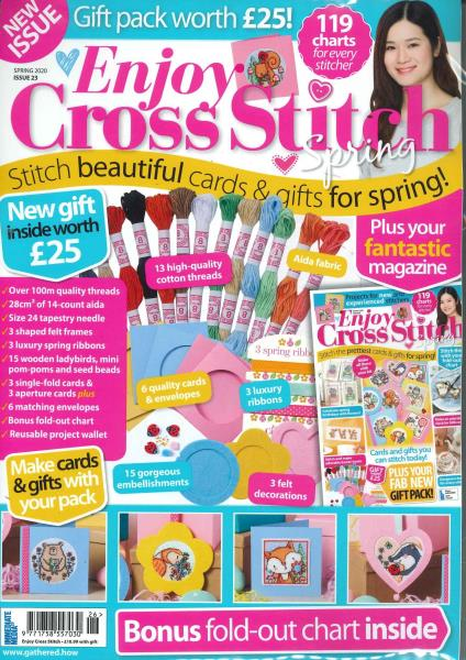 Enjoy Cross Stitch magazine