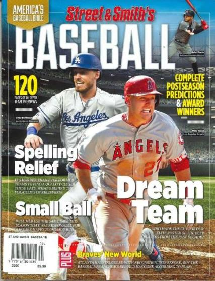 Street and Smith's Baseball Yearbook magazine