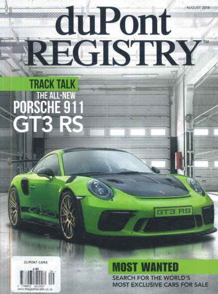 Dupont Registry Cars magazine