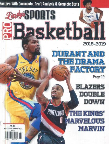 Lindy's Sports Pro Basketball magazine