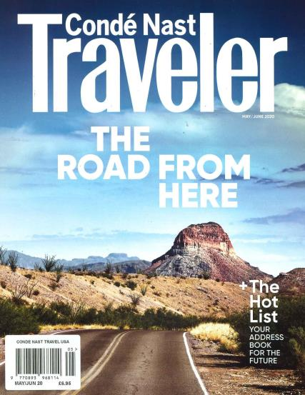 Conde Nast Traveller USA magazine