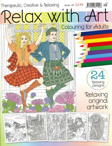 Relax With Art - 49 magazine