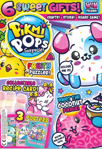 Pikmi Pops Surprise magazine