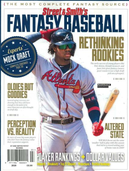 Street and Smith's Fantasy Baseball magazine