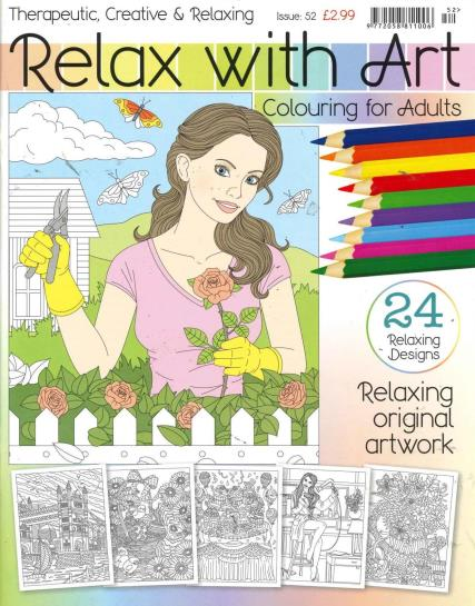 Relax With Art - 52 magazine