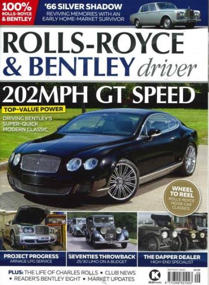 Rolls-Royce & Bentley Driver Magazine Subscription