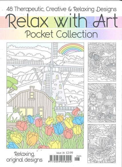 Relax With Art - Pocket Issue 26 magazine