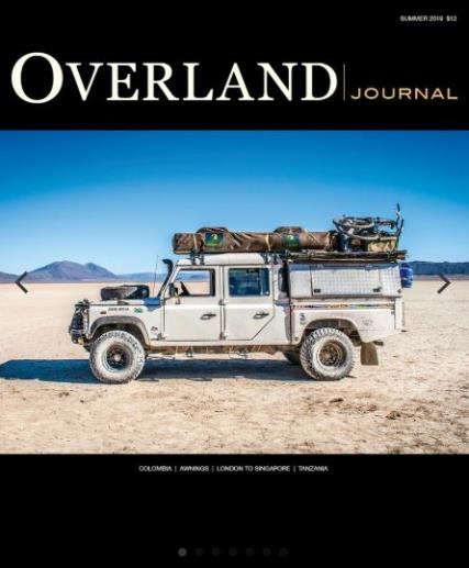 Overland Journal magazine