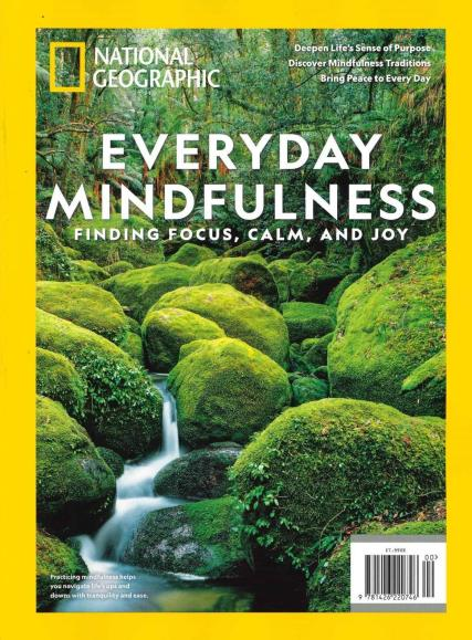 National Geographic Everyday Mindfulness magazine