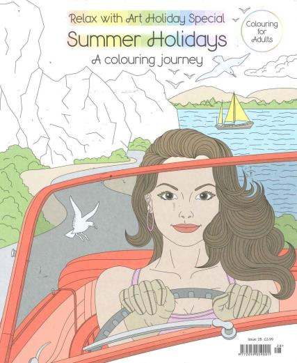 Relax With Art Summer Holidays magazine