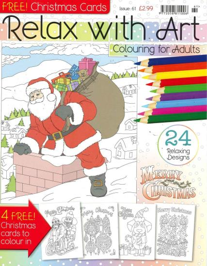 Relax With Art - 61 magazine