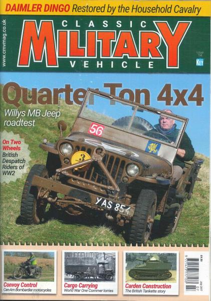 Classic Military Vehicle magazine