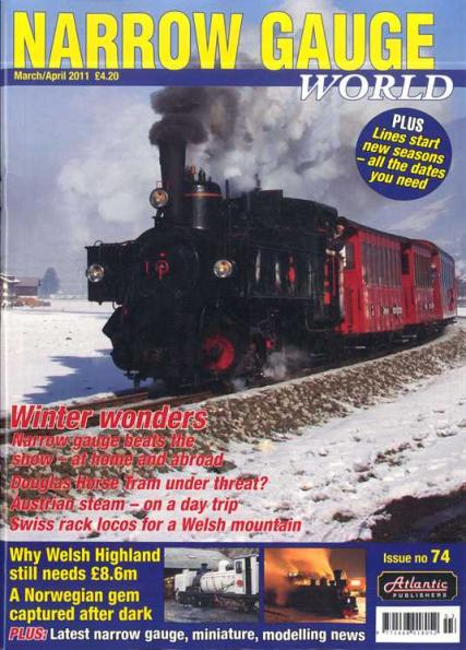 Narrow Gauge Rail magazine