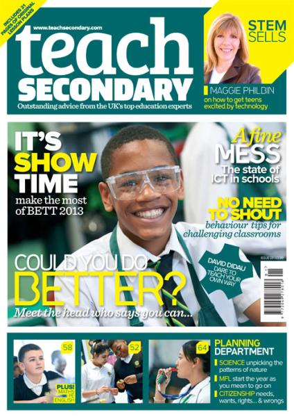 teach secondary magazine subscription
