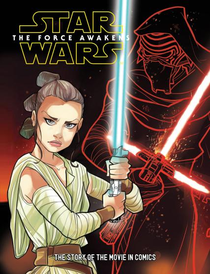 Star Wars Junior Graphic Novel magazine