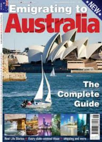 Emigrating to Australia magazine