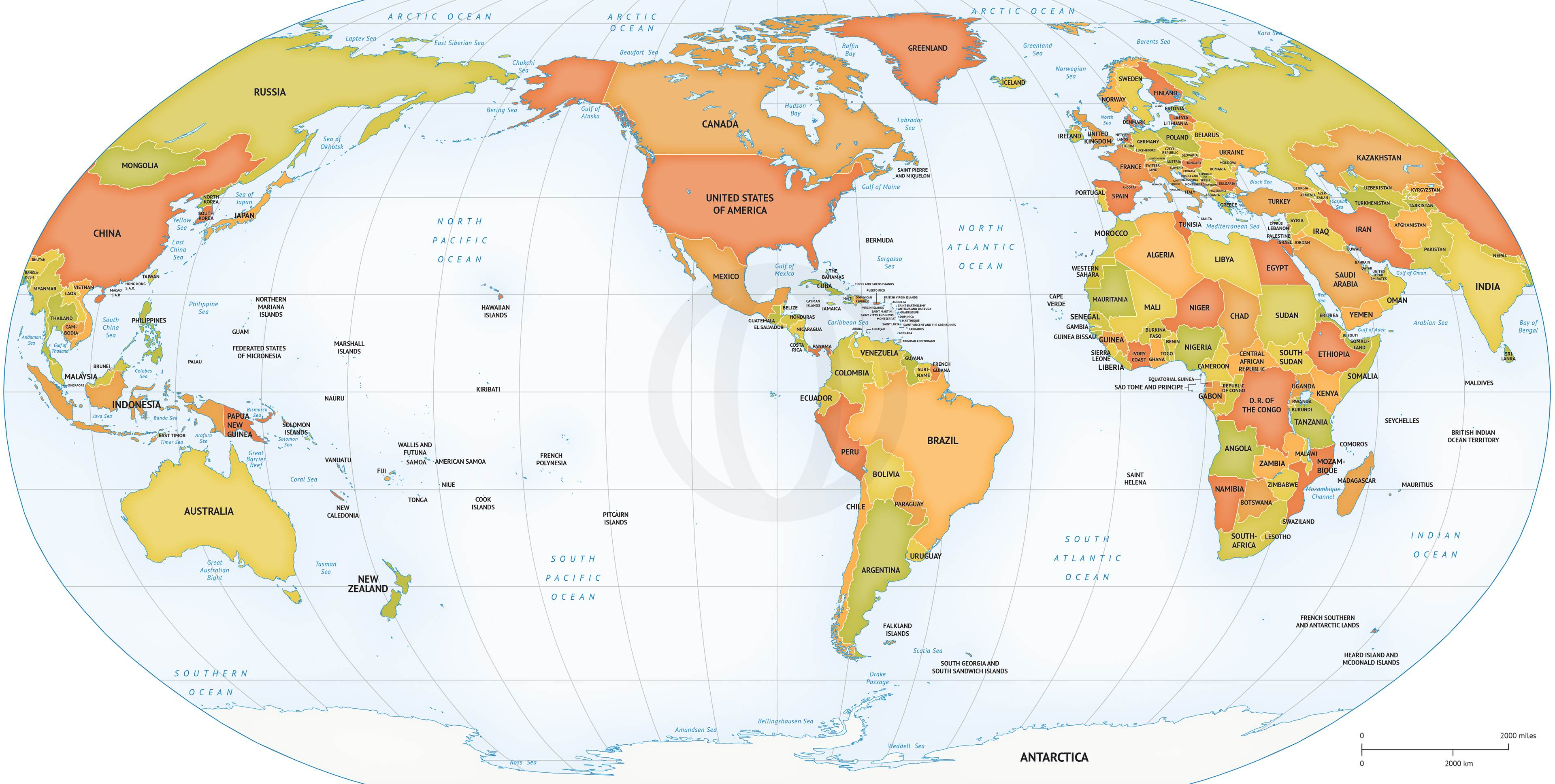 American world map militaryalicious american world map gumiabroncs Image collections