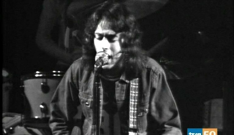 Rory Gallagher en Madrid. Marzo 1975