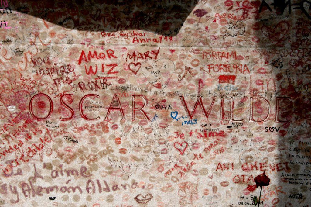 La tumba de Oscar Wilde