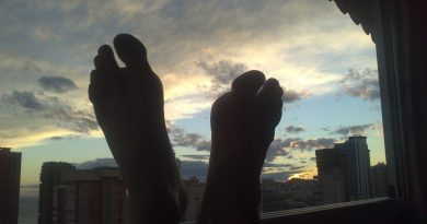 mis pies frescons enBenidorm