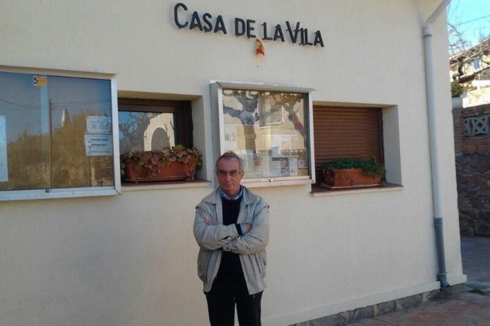 El alcalde independentista de Galifa, Jordi Fornas,