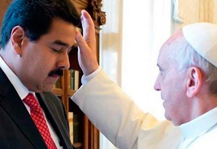 El Papa Francisco I recibió a Nicolás Maduro