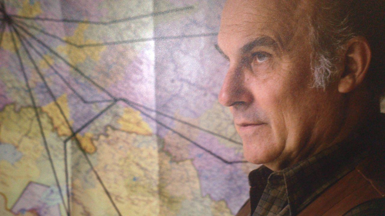Ryszard Kapuscinski retratado por Krzysztof Wójcik, de la agencia Forum