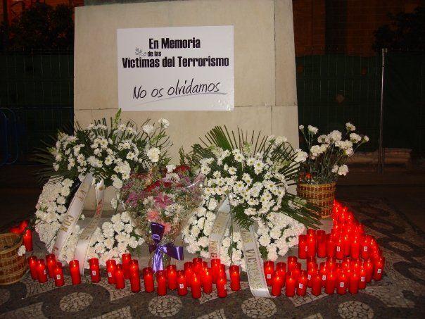 En memoria de las víctimas del 11 M