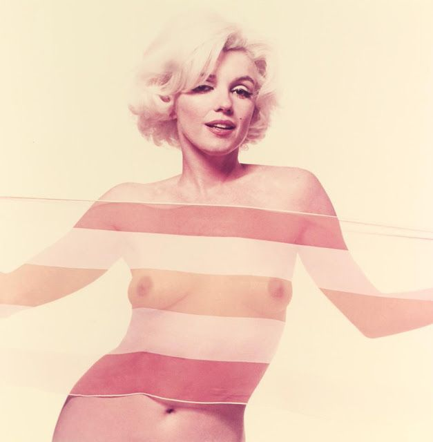 1962. Marilyn Monroe fotografiada por Bert Stern