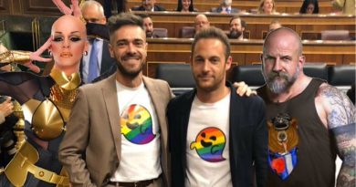 Carmena quiere el día del Orgullo por todo Madrid, vox en la casa de campo , yo visto lo visto, propongo se celebre en el Congreso. Por Pigdemont