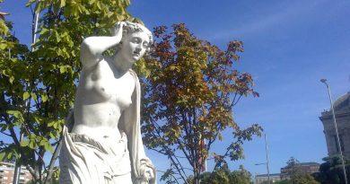 La estatua de Andrómaca