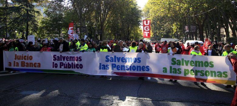 El lema de cabecera de hoy en Madrid