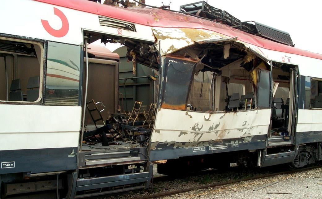 Foto 1.- El coche 4 de Santa Eugenia el 17 de marzo de 2004 en Vicálvaro