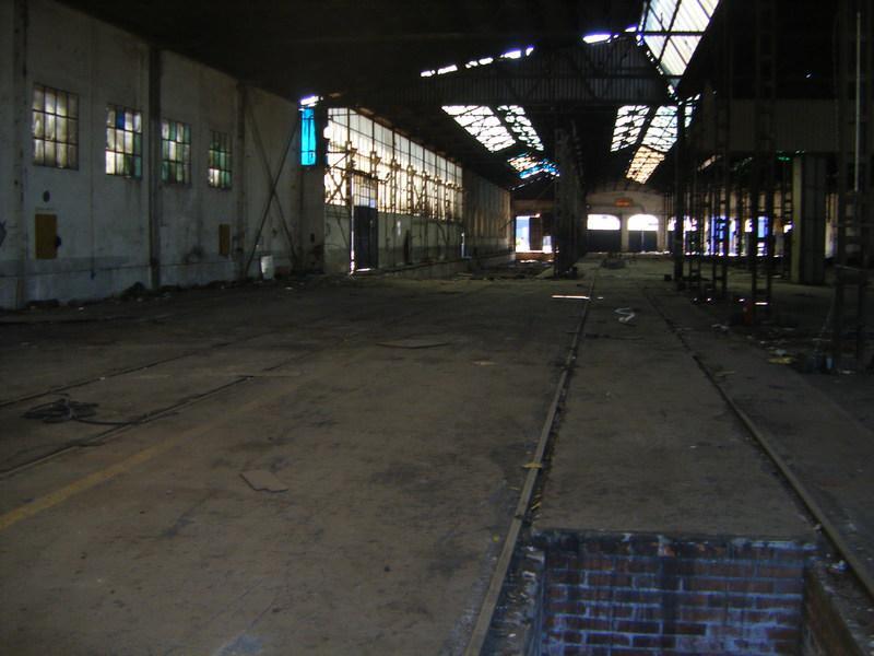 Foto 31.- Interior de una de las naves de Tafesa el 16 de septiembre de 2013